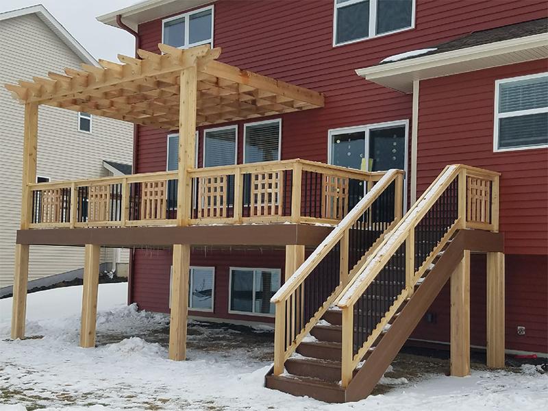 Custom Residential Decks Minnesota Deck Design Installation Spear S Landscape